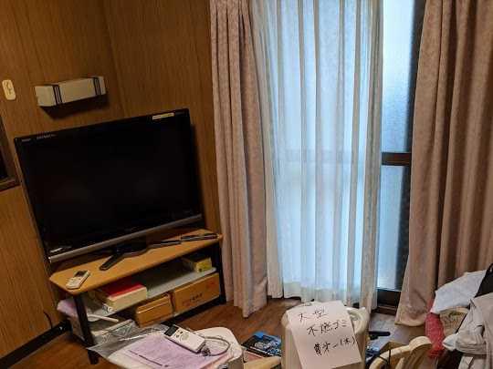 大阪府吹田市でTVの無料回収・家具処分のご依頼