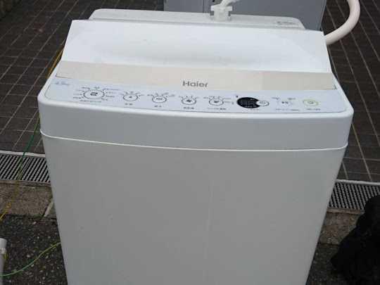 大阪府吹田市で洗濯機の回収のご依頼