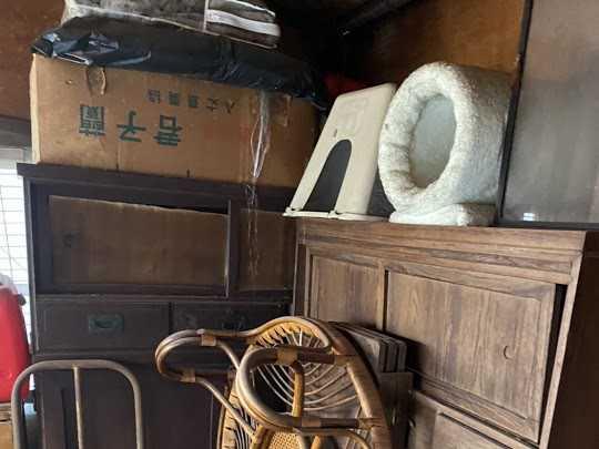 大阪府枚方市で家具・家電・粗大ごみの回収のご依頼
