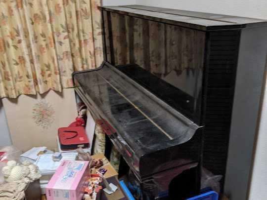 兵庫県西宮市でピアノ処分・不用品回収のご依頼